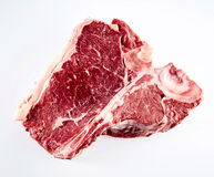 Raw beef porterhouse steak for grilling Royalty Free Stock Photo