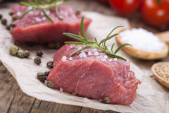 The raw beef Stock Photos
