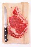 Raw beef rib Royalty Free Stock Photo