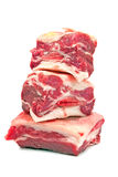 Raw beef ribs Stock Photo