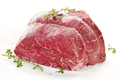 Raw beef roast Royalty Free Stock Photography