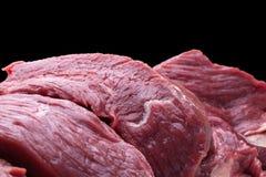 Raw beef stake Royalty Free Stock Photos