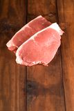 Raw beef steak Stock Image