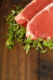 Raw beef steak Royalty Free Stock Photography