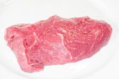Raw beef steak Royalty Free Stock Image