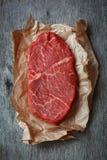 Raw beef steak Royalty Free Stock Photo