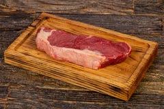 Raw beef steak Picanha. Black Angus Stock Photography