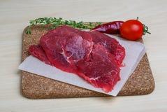 Raw beef Stock Image