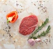 Raw beef steak Stock Photo