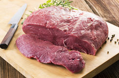 Raw Beef Steaks Stock Photography