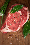 Raw Beef Steaks Royalty Free Stock Photo
