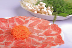 Raw beef and Vegetables Stock Images