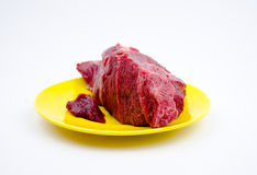 Raw beef Stock Photos