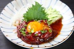 Raw Beef Yukhoe Royalty Free Stock Photos