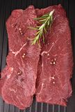 Raw beefsteak Royalty Free Stock Images