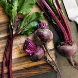 Raw Beetroot Stock Photography