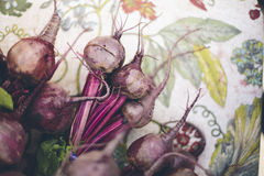 Raw Beets Royalty Free Stock Photos