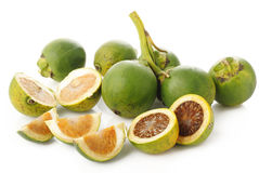 Raw betel nut Royalty Free Stock Photography