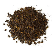 Raw black tea Stock Image