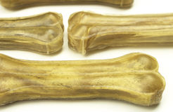 Raw bones for dog Stock Images