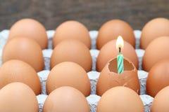 Raw break egg Royalty Free Stock Photos