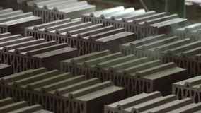 Raw brick stock video footage
