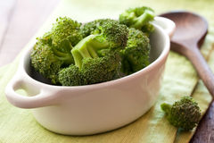 Raw broccoli Stock Photos