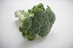 Raw broccoli. A close-up shot of fresh, raw broccoli Royalty Free Stock Photo