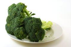 Raw Broccoli Stock Photography