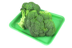 Raw broccoli close up Stock Photo