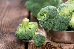 Raw Broccoli Royalty Free Stock Photo