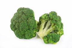 Raw broccoli Stock Photography