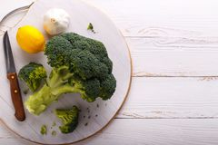 Raw broccoli Royalty Free Stock Photography