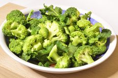 Raw broccoli. Ready for cooking, organic product from Italian agriculture Royalty Free Stock Image