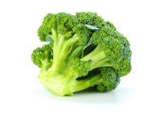 Raw broccoli  on white background. Broccoli  on white background Royalty Free Stock Photos