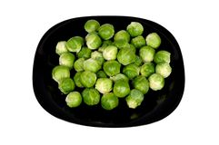 Raw Brussels sprouts. Stock Photo