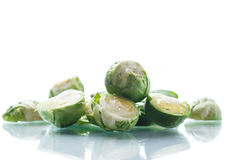 Raw Brussels sprouts Royalty Free Stock Photo