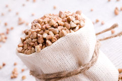 Raw buckwheat Royalty Free Stock Image