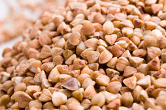Raw buckwheat Stock Photography