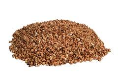 Raw buckwheat isolated Royalty Free Stock Photography