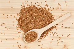 Raw buckwheat Royalty Free Stock Images