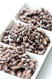 Raw Cacao Nibs Royalty Free Stock Photos
