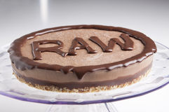 Raw cake Royalty Free Stock Images