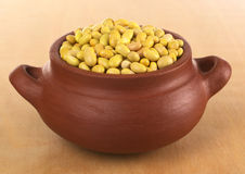 Raw Canary Beans Royalty Free Stock Image