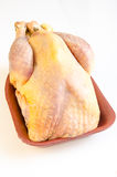 Organic raw guinea fowl Stock Photos