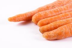 Raw carrot Royalty Free Stock Photos