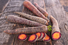 Raw carrot Royalty Free Stock Photography