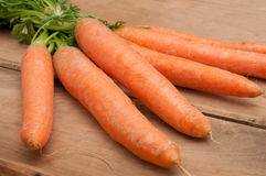 Raw Carrots Royalty Free Stock Photography