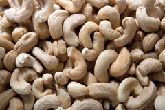 Raw cashew nuts Royalty Free Stock Photography