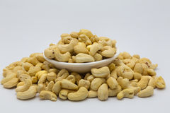 Raw cashews nut Stock Image